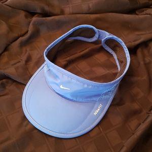 Nike Sky Blue & White Running Visor